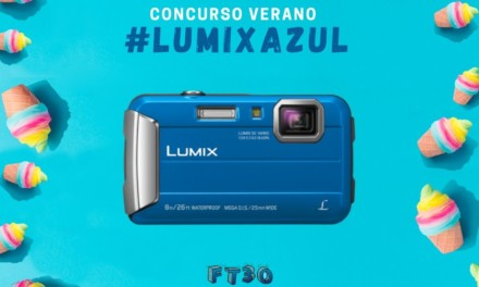 Concurso Lumix Azul: gana un Happy Pack FT30