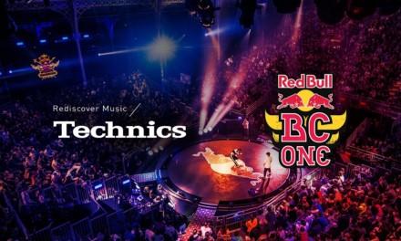Nueva Edición Limitada del tocadiscos Technics SL-1210MK7R junto a Red Bull BC One