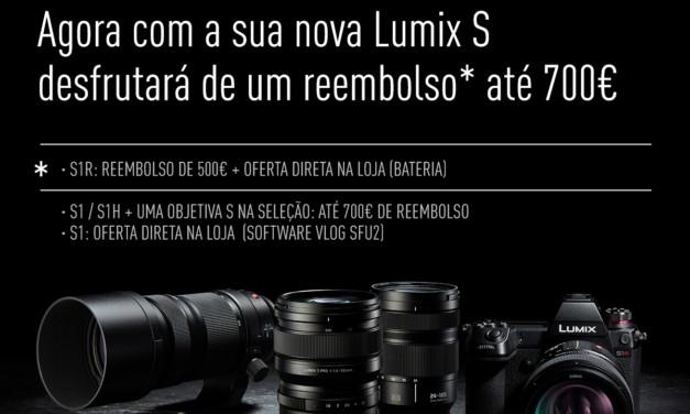 Cashback Lumix S 2020 – Panasonic Portugal
