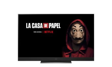 5 razones para ver La Casa de Papel en un televisor Panasonic