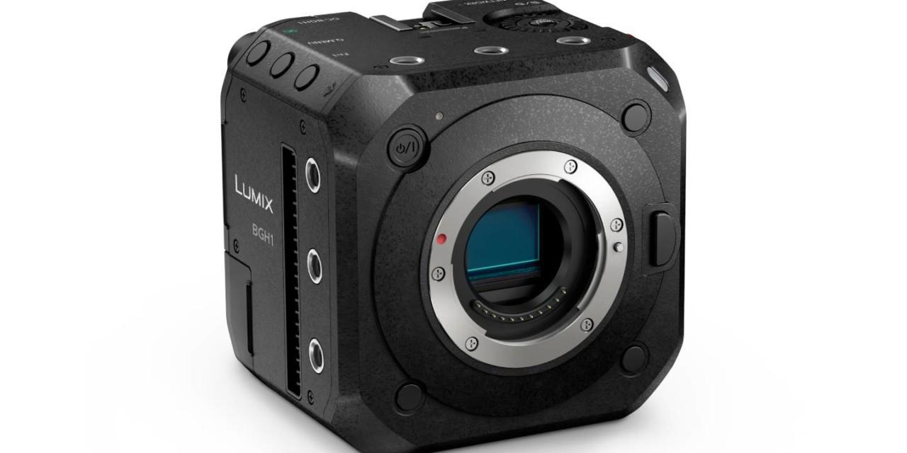Descubre la nueva cámara Box-Style LUMIX BGH1, con C4K/4K 60p/50p y grabación de vídeo ilimitada en 10 bits