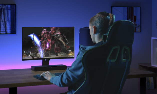 Descubre la barra de sonido para gamers SC-HTB01