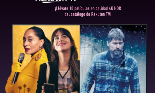 Una promoción de cine: Panasonic y Rakuten TV