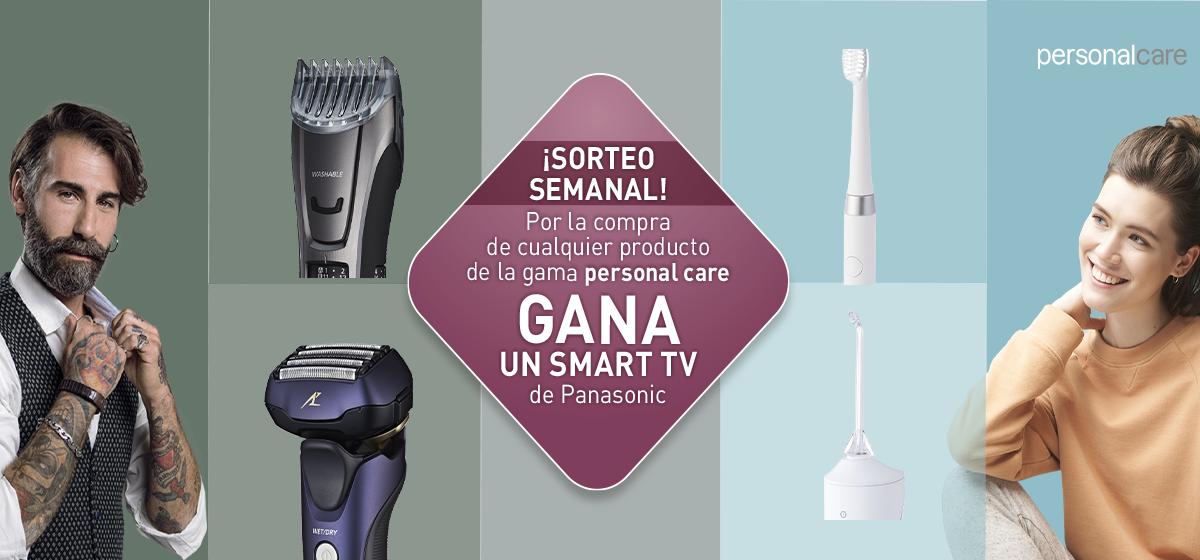 Gana un Smart TV por la compra de productos personal care