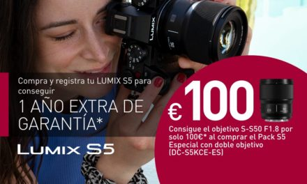 Promoción de verano Lumix S5