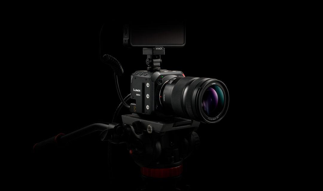 LUMIX BS1H Full Frame, la nueva Live & Cine cámara en formato Box-Style